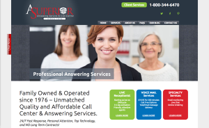answering service web design