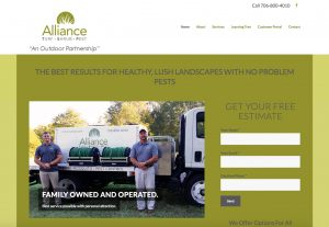 landscape web design and marketing